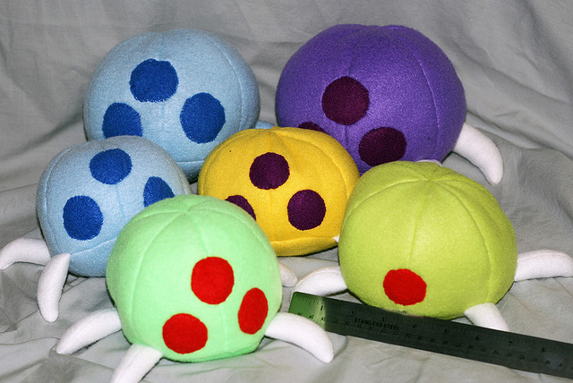 Metroid Hats & Plushies