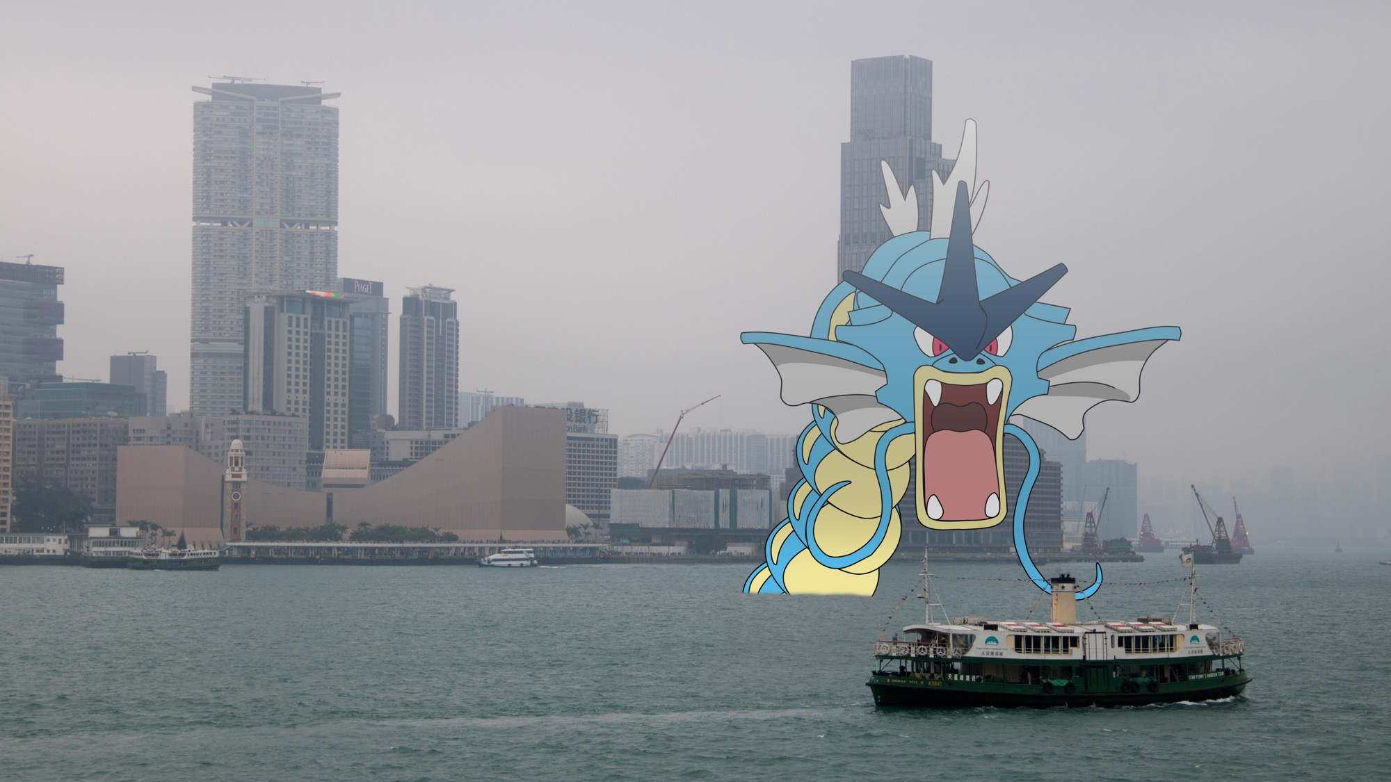 Kaiju in Hong Kong
