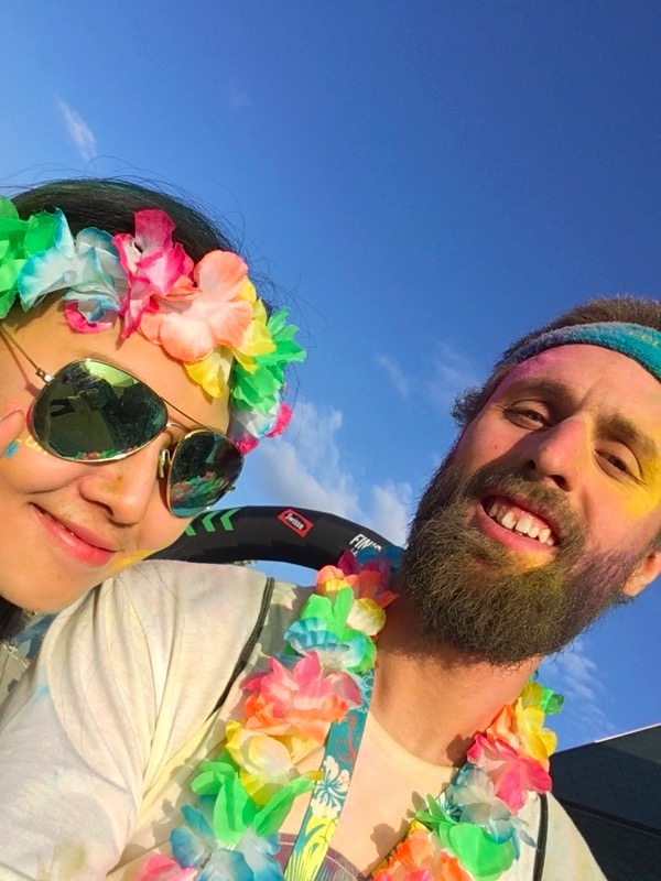 🇨🇳 Selfies with Strangers #happiest5k